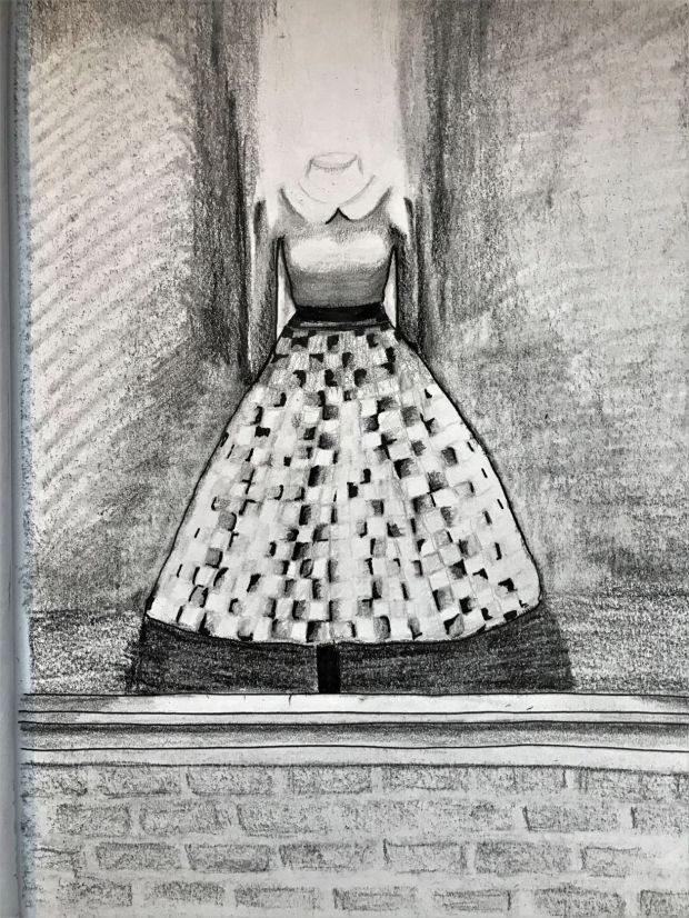 Dress, Pen and Pencil