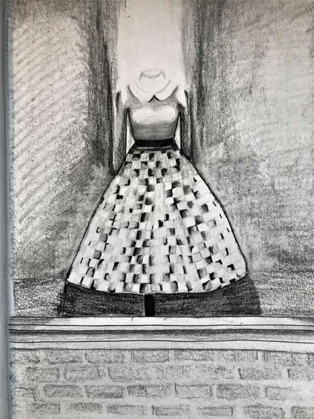 Dress, Pen and Pencil